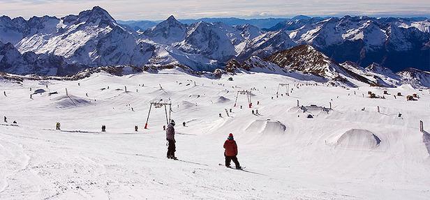 Najdlhšie a najstrmšie zjazdovky - ©Les 2 Alpes Tourisme
