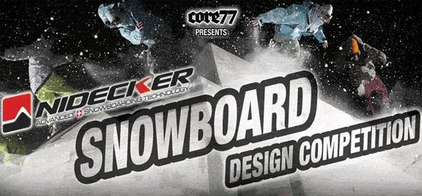 Nidecker snowboard design contest