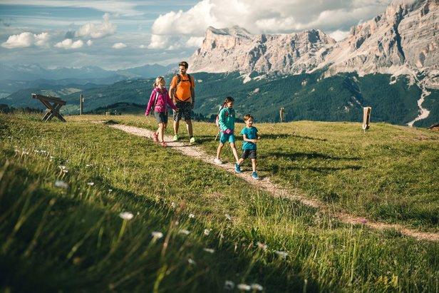 Aktivní dovolená v Alta Badia: treking, procházky, cykloturistika i paragliding- ©Molography