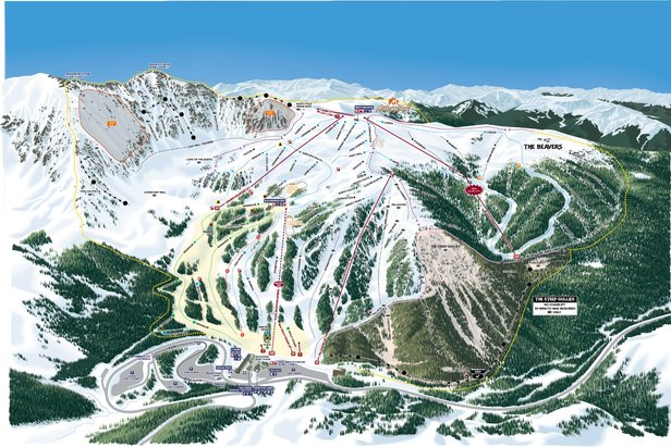 Arapahoe Basin new Trail Map.