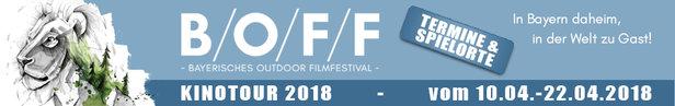 Bayerisches Outdoor Film Festival: Action, Menschen und Geschichten- ©B/O/F/F