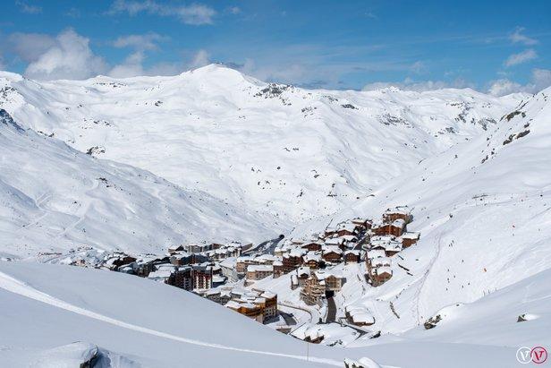 Snowcast for our top 20 ski resorts Val Thorens/Facebook