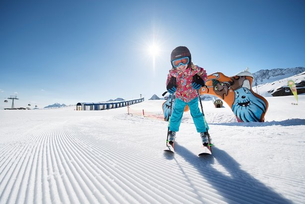 Ako správne vybrať dĺžku lyží pre deti? ©Andre Schoenherr