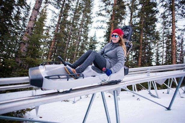 The Snowmass Breathtaker Alpine Coaster.  - © Aspen Skiing Company