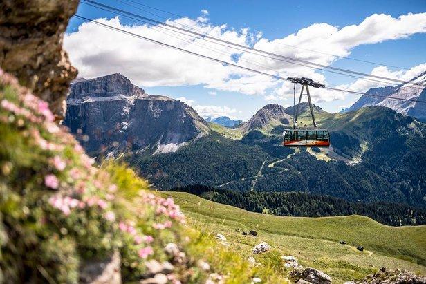 Už jste někdy viděli Dolomity v létě?- ©Val di Fassa Lift Facebook