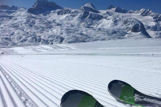 Weerbericht: ijzige kou ruimt plaats voor sneeuw- ©facebook | Dachstein Krippenstein