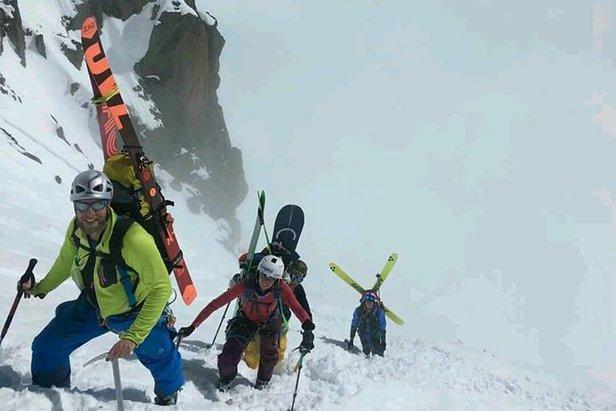 De Haute Route, ofwel van Chamonix naar Zermatt. ©Katrien Aerts