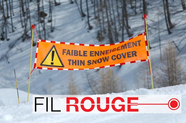 Fil rouge ouvertures des stations de ski ©Gudellaphoto - Fotolia.com