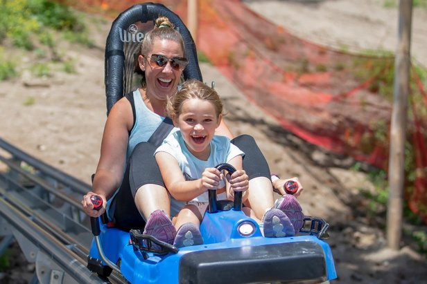 Bogus Basin's Glade Runner Mountain Coaster is one of a kind in Idaho.  - © Bogus Basin