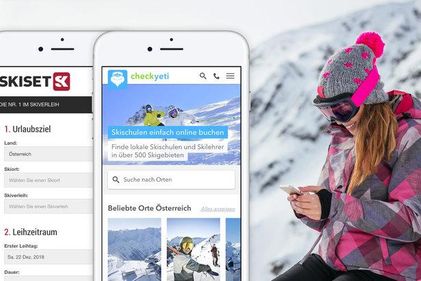 CheckYeti und Skiset kooperieren: Skiurlaub zu buchen wird noch einfacherCheckYeti.com
