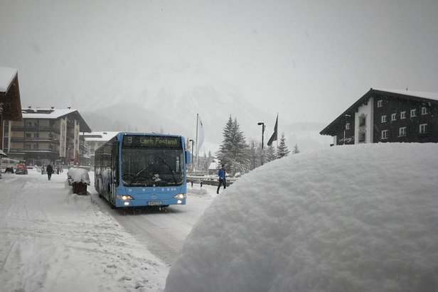 Weekly snow report 14/12/18Lech-Zuers/Facebook