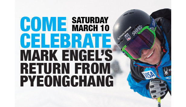 Mark Engel Olympic Welcome Home Celebration