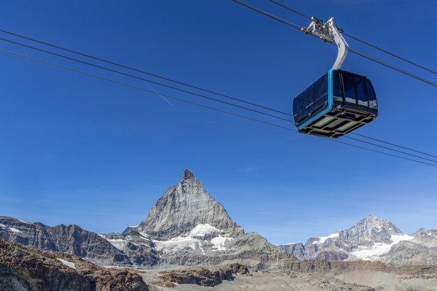 3S-Bahn in Zermatt eingeweiht: Historischer Tag in der Geschichte der Seilbahnen- ©LEITNER ropeways