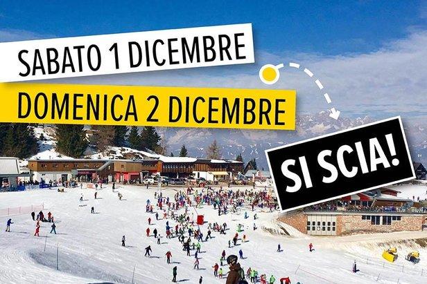 Dal 1 Dicembre impianti aperti a Monte Bondone ©Monte Bondone Facebook