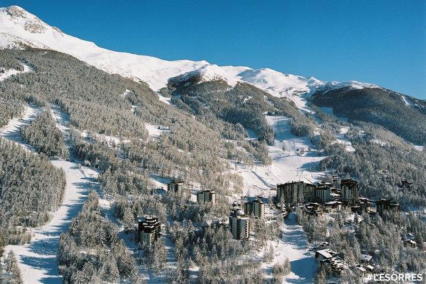 Ouverture du domaine skiable des Orres le 15 décembre - ©Facebook Les Orres