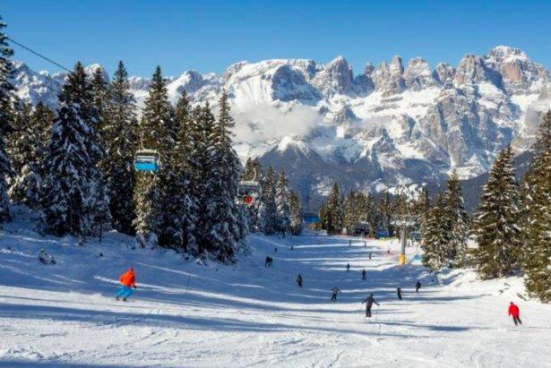 La neve fresca prolunga la stagione sciistica in Paganella- ©Paganella Facebook