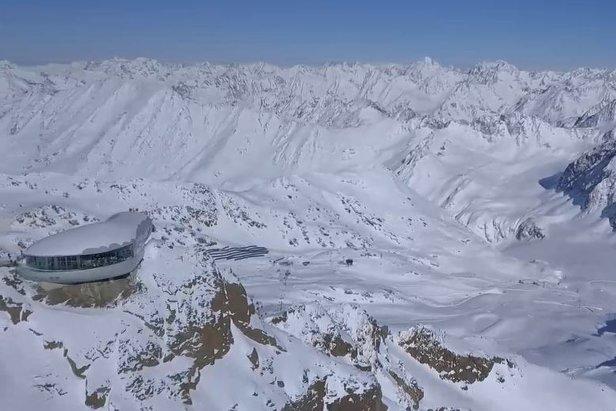 Auch Pitztaler Gletscher startet nun in die Skisaison ©FB Pitztal - Tirol