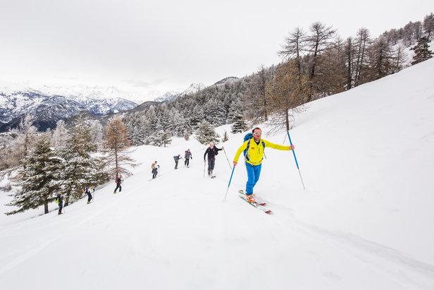 Puy Saint Vincent récompéensée pour ses itinéraires ski de randoAgence PLRP Emeline LE THOMAS