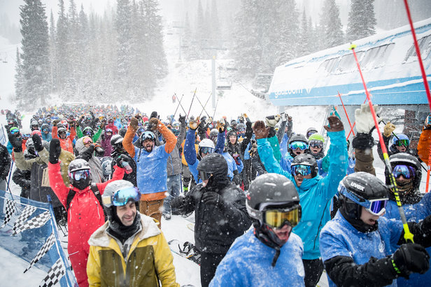Opening Day Powder Turns Across North America ©Chris Segal, Snowbird