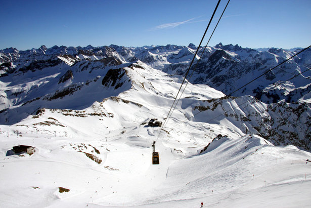 Spectacular views over 400 peaks from Oberstdorf - Nebelhorn, Germany  - © Oberstdorf