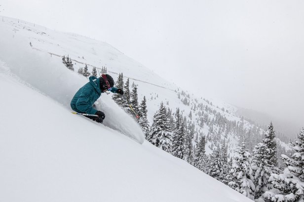 Arapahoe Basin's new Steep Gullies have been likened to the extreme terrain at mountains like Crested Butte and Telluride.  - © Liam Doran