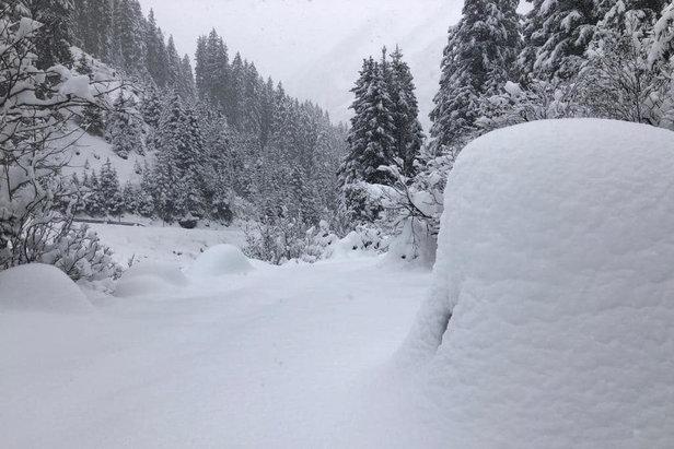 Raport narciarski: rusza Szczyrk, po burzy śnieżnej w Alpach megawarunki ©facebook Stubaier Gletscher