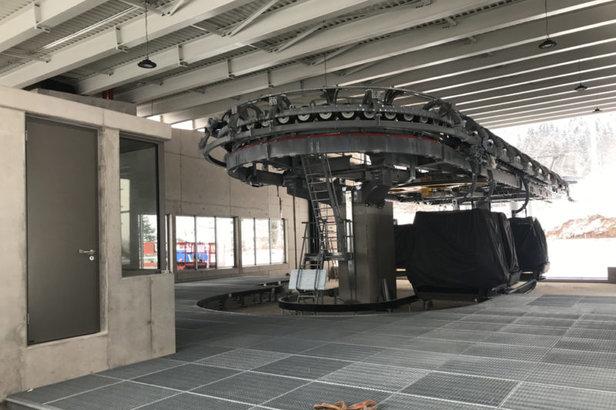 Baufortschritt am Jenner: Neue Jennerbahn soll im Sommer in Betrieb gehen ©www.jennerbahn.de