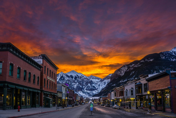 Telluride is a small town with everything within walking distance.  - © Visit Telluride/Ryan Bonneau