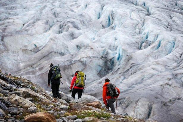 Na ceste k ľadovcu Gepatschferner v Kaunertali