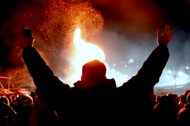 Ullr Fest - Winter Kickoff Bonfire ©Sam Krepps