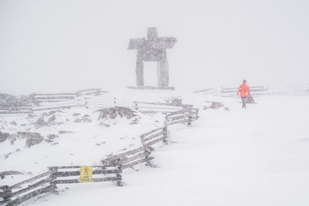 September Snow for Central, Northern Rockies- ©Mitch Winton via Coast Mountain Photo