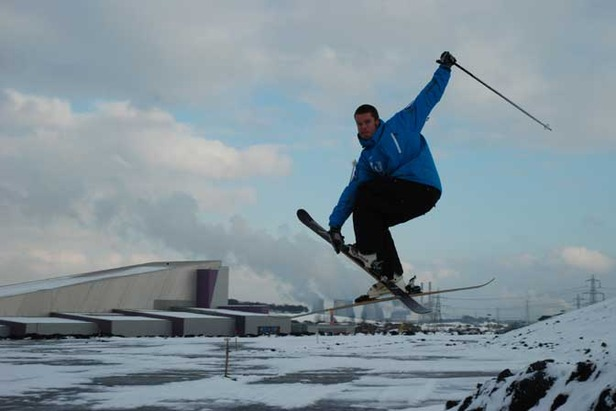 Indoor Skiers Move Outdoors