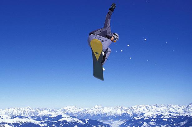 Zell am See - Kaprun_Snowboarder