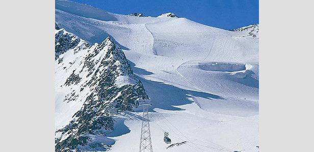 Weiße Pracht für Springtime Ski am Pitztaler Gletscher