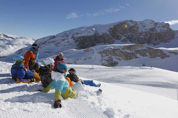Au ski en famille dans le Dévoluy