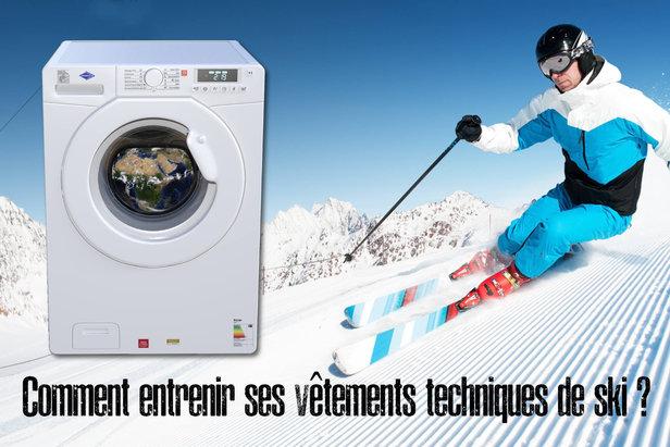 Pour ne pas commettre d'impair lors du lavage de votre tenue de ski, voici quelques précieux conseils pour restaurer toutes les capacités de vos vêtements techniques de ski (déperlance, respirabilité...) grâce à un entretien adapté.