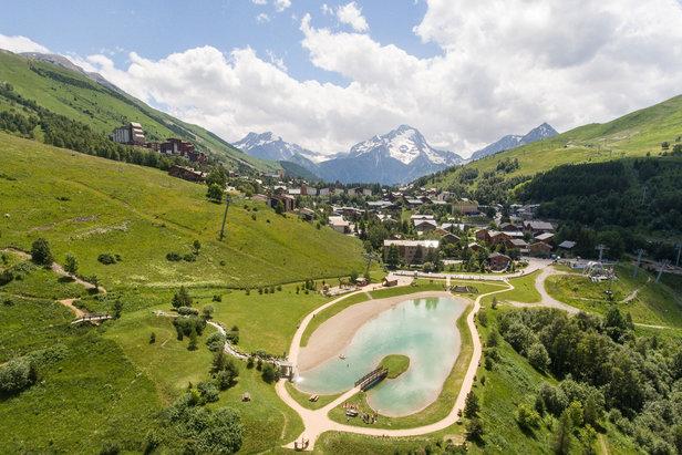 La saison d'été débute le 22 juin aux 2 Alpes- ©Les 2 Alpes - Hervé Doulat