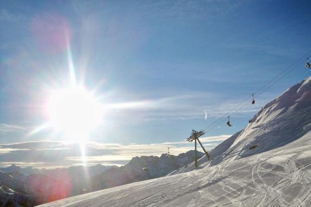 Skigebiet Grubigstein: Anspruchsvolles Skifahren in der Zugspitz Arena- ©Markus Hahn