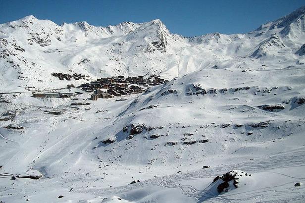 Skifahren in Val Thorens 2012