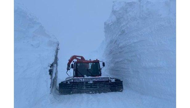 6 metri di neve fresca caduti sul Ghiacciaio Presena! (16.12.20)