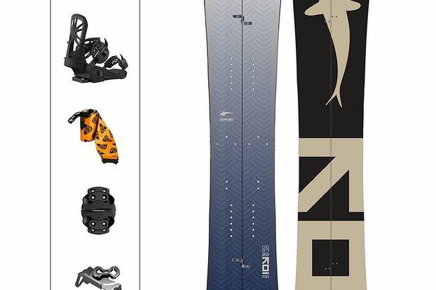 Borealis Snowboards Koi Split  - © Benjamin Hall