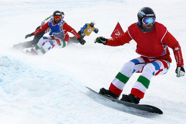 Coupe d'Europe de snowboardcross à Puy Saint Vincent