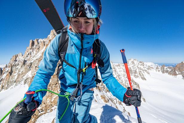 Erin Mielzynski Slalom-Skifahrerin für Team Canada  - © Helly Hansen