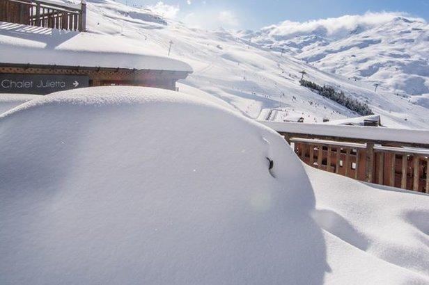 Non sappiamo come dirvelo... Previsioni neve per i prossimi 3 giornifacebook   Les Menuires