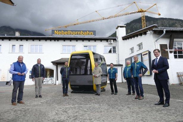 Start am Nebelhorn: Bau der höchsten Bergbahn des Allgäus vorgezogenOBERSTDORF KLEINWALSERTAL BERGBAHNEN