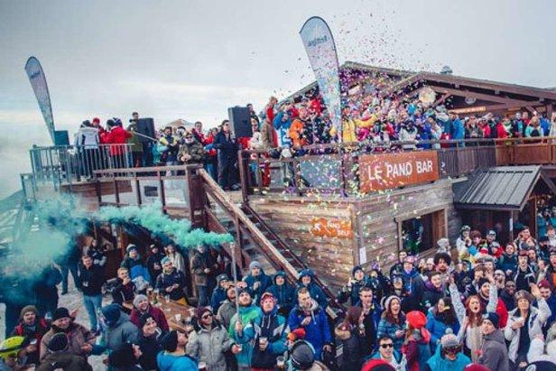 RISE festival in Les 2 Alpes  - © RISE/Les 2 Alpes