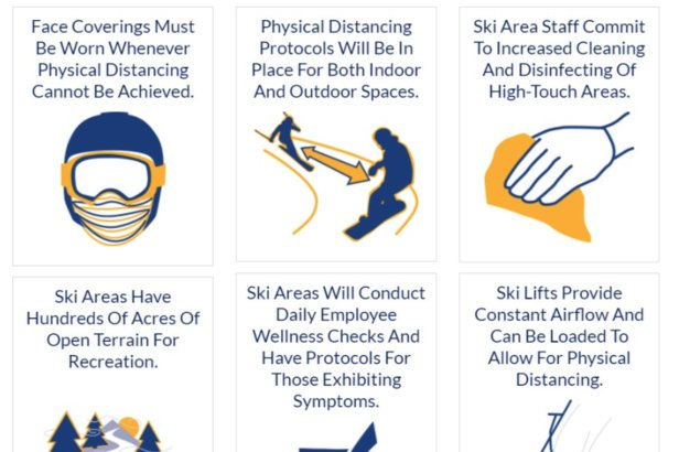 Ski area guidelines provided by the NSAA  - © NSAA