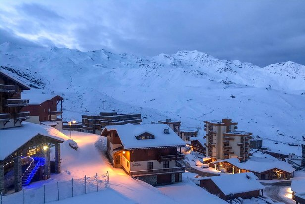 Schneereicher Morgen in Val Thorens  - © Val Thorens/Facebook