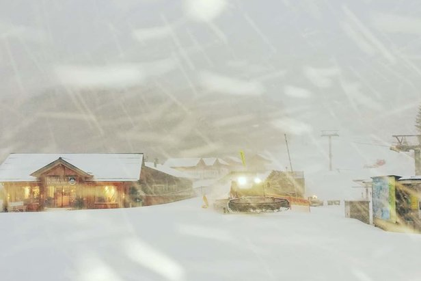 Achtung Wettersturz! Ab Dienstagnachmittag viel Schneefall und Sturm ©Facebook Loser Bergbahen