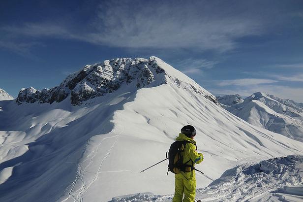 Freeriden in Lech und Zürs am Arlberg- ©Markus Hahn